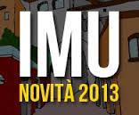 NOVITA' IMU SALDO 2013  E MINI IMU