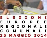 ELEZIONI EUROPEE, REGIONALI, AMMINISTRATIVE DEL 25/05/2014