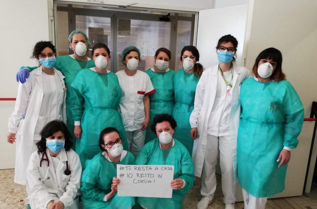 COVID-19 > Messaggio operatori sanitari