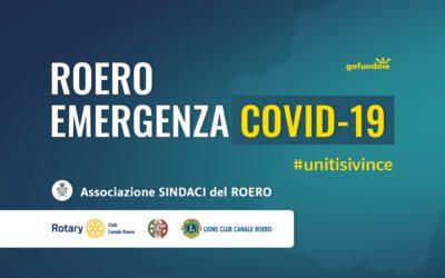 """COVID-19 > Raccolta fondi """"ROERO EMERGENZA COVID-19"""""""