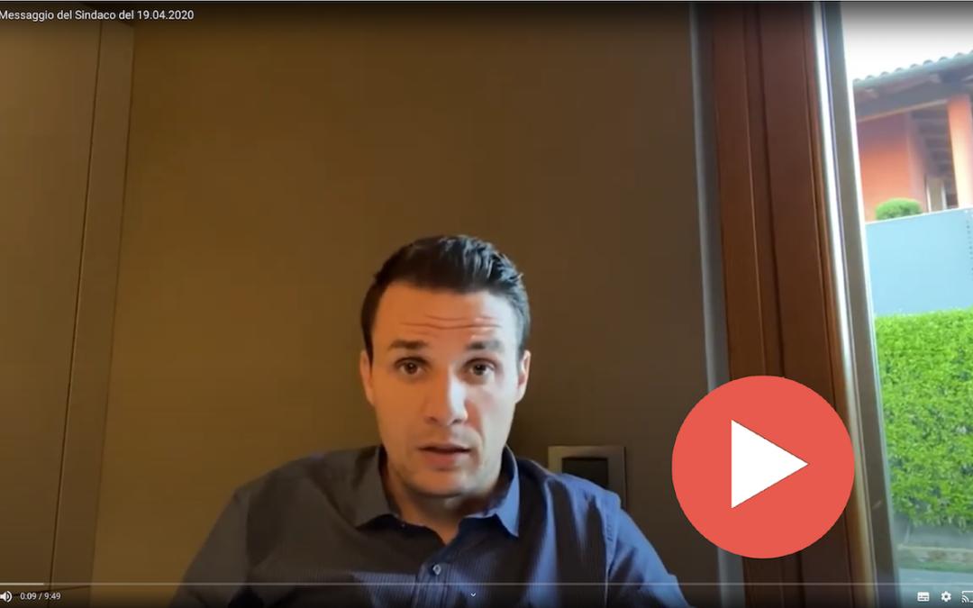 COVID-19 > Messaggio video n.06 del Sindaco